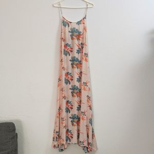 Peach Floral Intimately Free People Maxi Dress